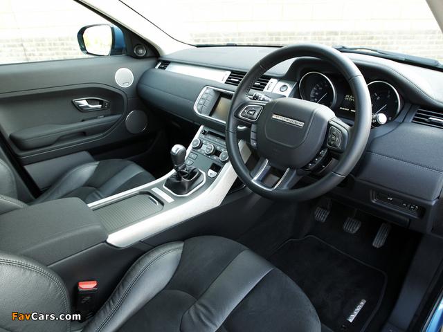 Range Rover Evoque eD4 Prestige UK-spec 2012 pictures (640 x 480)