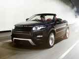 Range Rover Evoque Convertible Concept 2012 wallpapers