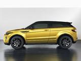 Range Rover Evoque Coupe Sicilian Yellow 2013 pictures