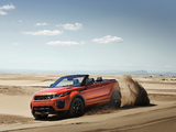 Range Rover Evoque Convertible 2016 photos