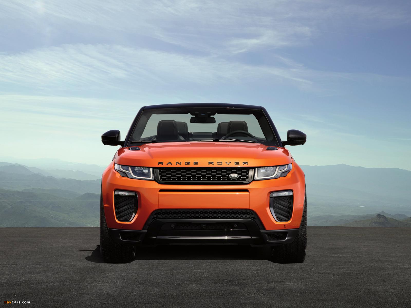 Автомобиль джип range rover evoque convertible скачать