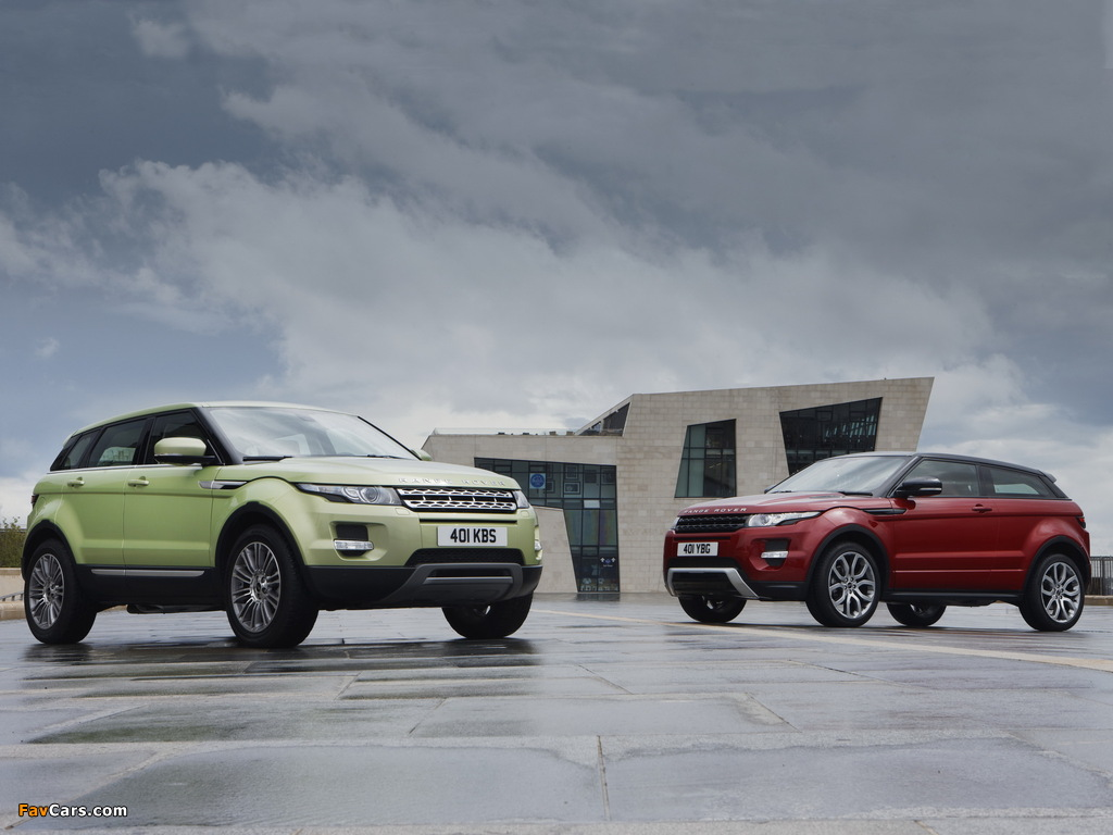 Land Rover Range Rover Evoque images (1024 x 768)