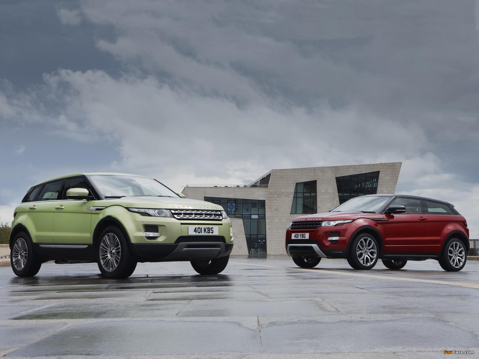Land Rover Range Rover Evoque images (1600 x 1200)