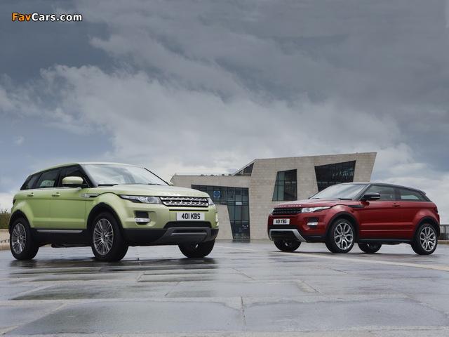 Land Rover Range Rover Evoque images (640 x 480)