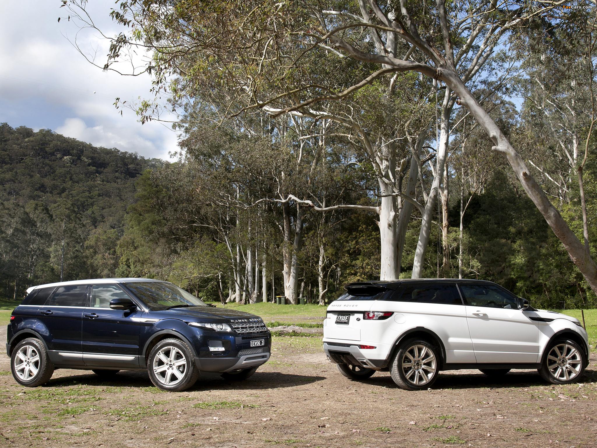Land Rover Range Rover Evoque photos (2048 x 1536)