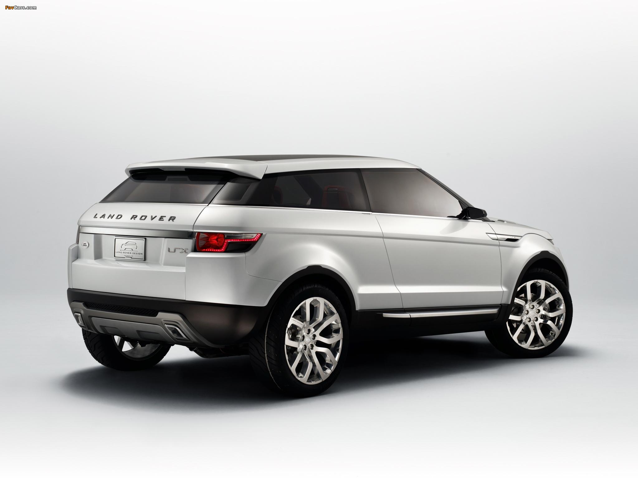 Photos of Land Rover LRX Concept 2007 (2048 x 1536)