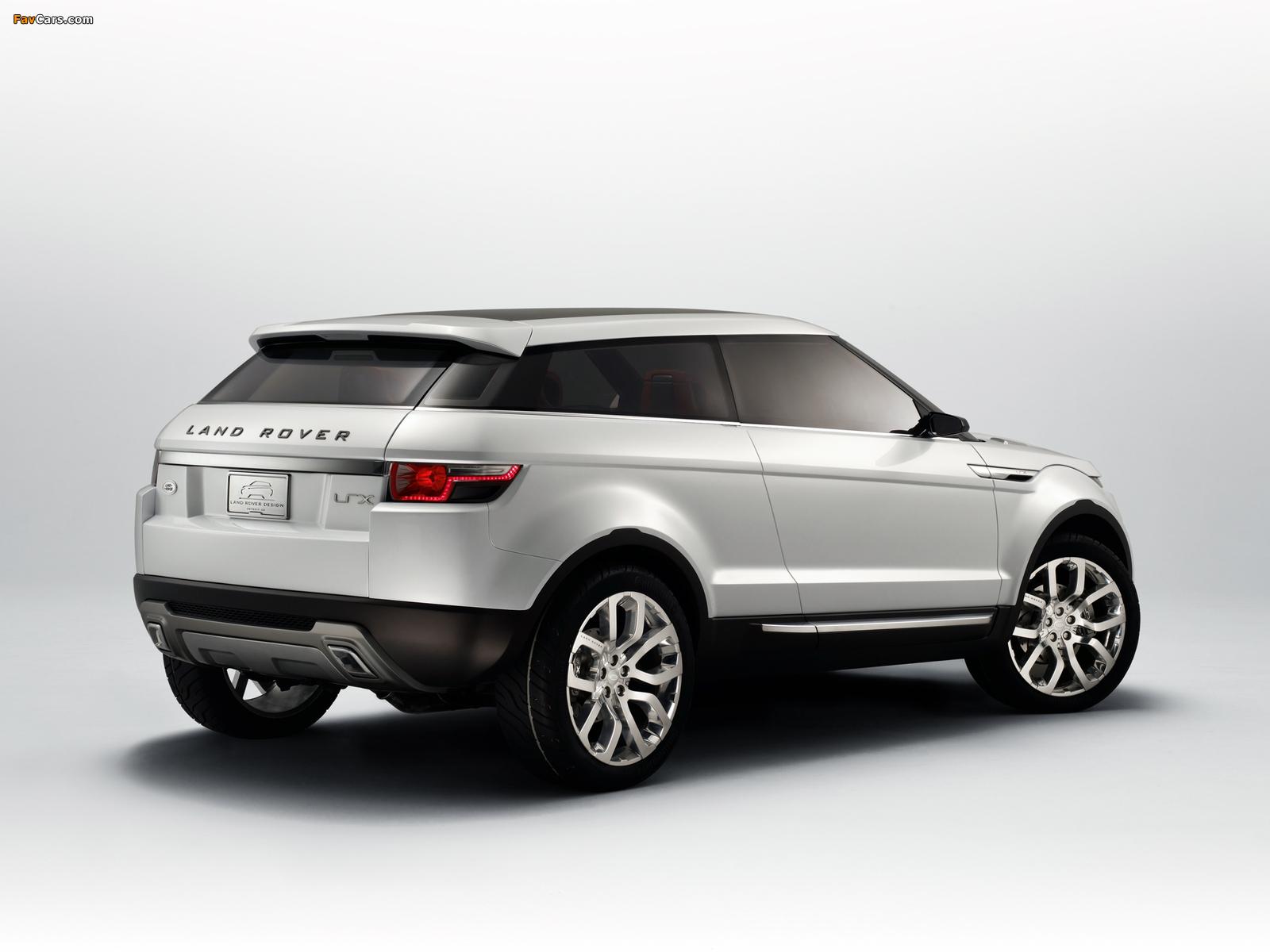 Photos of Land Rover LRX Concept 2007 (1600 x 1200)