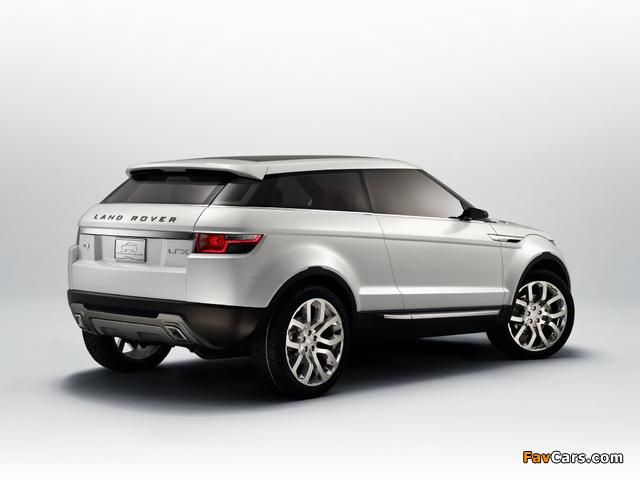 Photos of Land Rover LRX Concept 2007 (640 x 480)