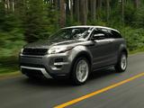 Photos of Range Rover Evoque Coupe Dynamic US-spec 2011