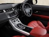 Photos of Range Rover Evoque Coupe Si4 Dynamic UK-spec 2011