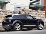 Photos of Range Rover Evoque Prestige AU-spec 2011