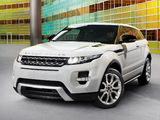 Photos of Range Rover Evoque Coupe Dynamic 2011