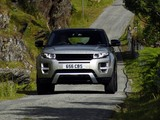 Photos of Range Rover Evoque SD4 Dynamic UK-spec 2011