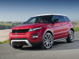 Photos of Range Rover Evoque Dynamic 2011