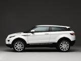 Photos of Range Rover Evoque Coupe Prestige 2011