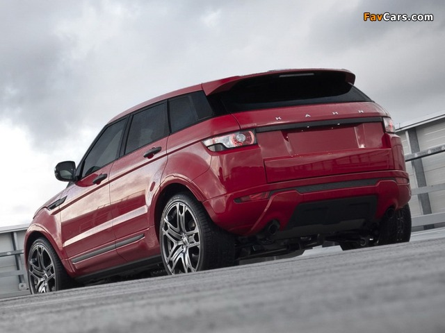 Photos of Project Kahn Range Rover Evoque 2011 (640 x 480)