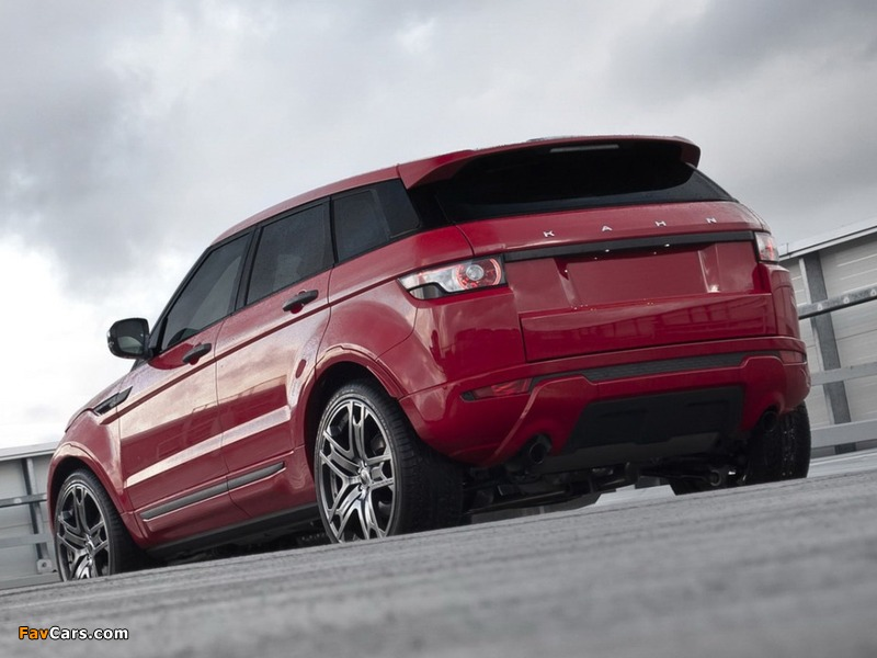 Photos of Project Kahn Range Rover Evoque 2011 (800 x 600)