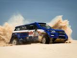 Photos of Range Rover Evoque Rally Car 2012