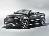 Photos of Range Rover Evoque Convertible Concept 2012
