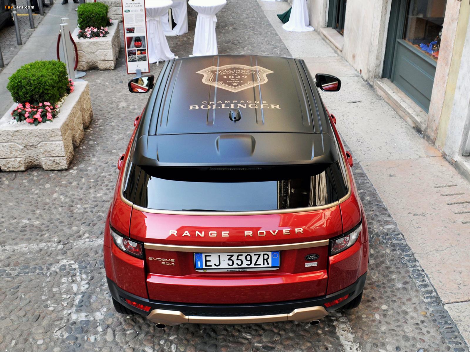 Photos of Aznom Range Rover Evoque Bollinger 2012 (1600 x 1200)