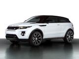 Photos of Range Rover Evoque Coupe Black Design Pack 2013