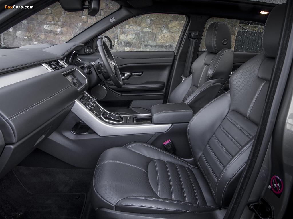 Photos of Range Rover Evoque HSE Dynamic UK-spec 2015 (1024 x 768)
