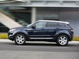 Pictures of Range Rover Evoque Prestige AU-spec 2011