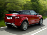 Pictures of Range Rover Evoque Coupe Si4 Dynamic UK-spec 2011