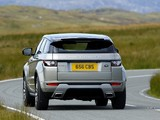 Pictures of Range Rover Evoque SD4 Dynamic UK-spec 2011