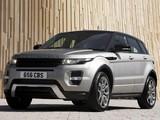Pictures of Range Rover Evoque SD4 Dynamic UK-spec 2011