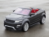 Pictures of Range Rover Evoque Convertible Concept 2012