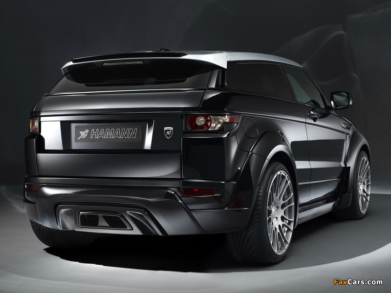 Pictures of Hamann Range Rover Evoque Coupe 2012 (800 x 600)