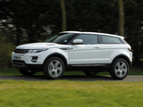 Pictures of Range Rover Evoque Coupe eD4 Prestige UK-spec 2012