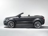 Pictures of Range Rover Evoque Convertible Concept 2012