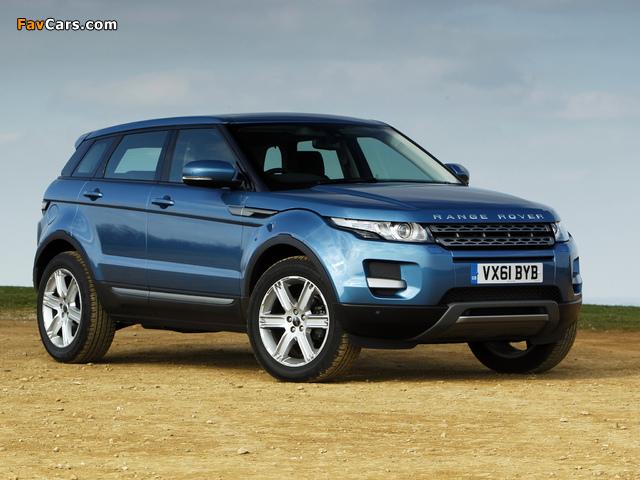 Pictures of Range Rover Evoque eD4 Prestige UK-spec 2012 (640 x 480)