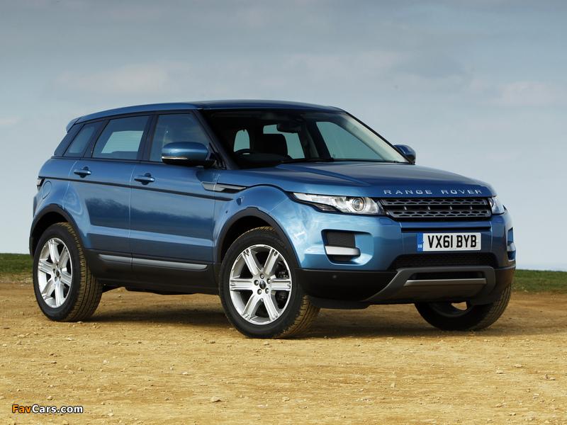 Pictures of Range Rover Evoque eD4 Prestige UK-spec 2012 (800 x 600)