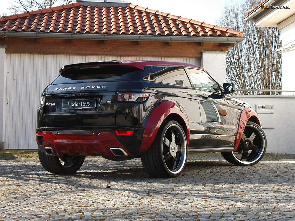 Pictures of Loder1899 Range Rover Evoque 2012 (1024 x 768)