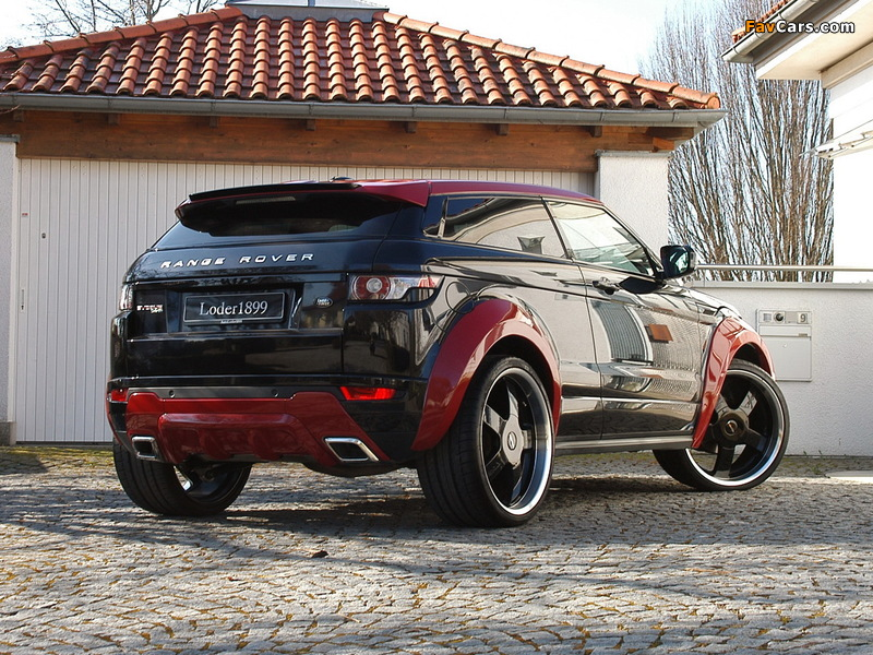 Pictures of Loder1899 Range Rover Evoque 2012 (800 x 600)