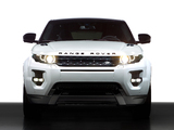 Pictures of Range Rover Evoque Coupe Black Design Pack 2013