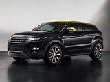 Pictures of Range Rover Evoque Coupe Sicilian Yellow 2013
