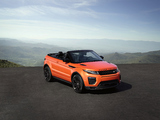 Pictures of Range Rover Evoque Convertible 2016