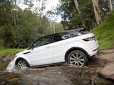 Pictures of Range Rover Evoque Coupe Dynamic AU-spec 2011