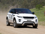 Range Rover Evoque Coupe Dynamic AU-spec 2011 wallpapers