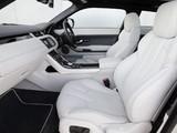 Range Rover Evoque Coupe Si4 Prestige UK-spec 2011 wallpapers