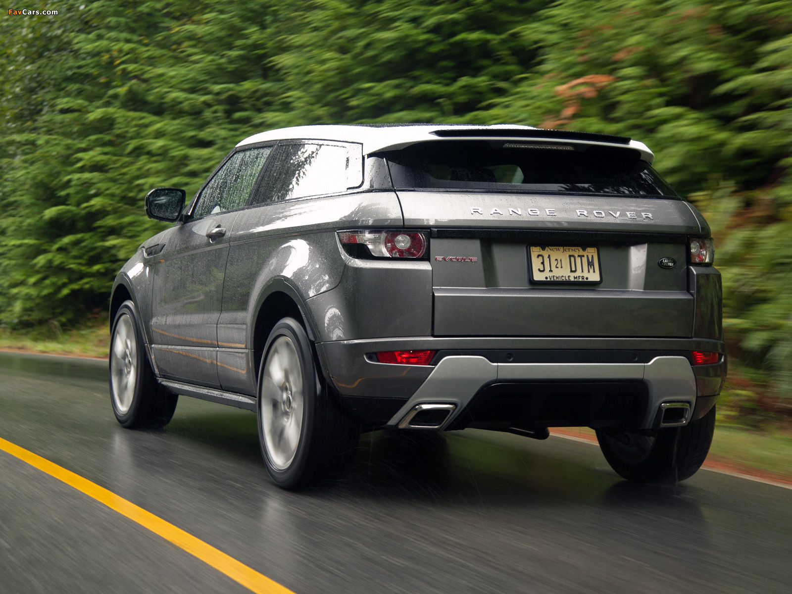 Range Rover Evoque Coupe Dynamic US-spec 2011 wallpapers (1600 x 1200)