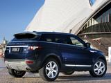 Range Rover Evoque Prestige AU-spec 2011 wallpapers