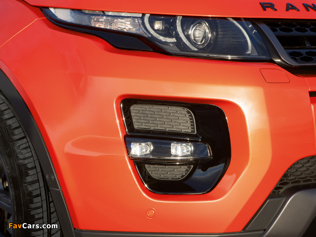 Range Rover Evoque Autobiography Dynamic 2014–15 wallpapers (640 x 480)