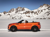 Wallpapers of Range Rover Evoque Convertible 2016