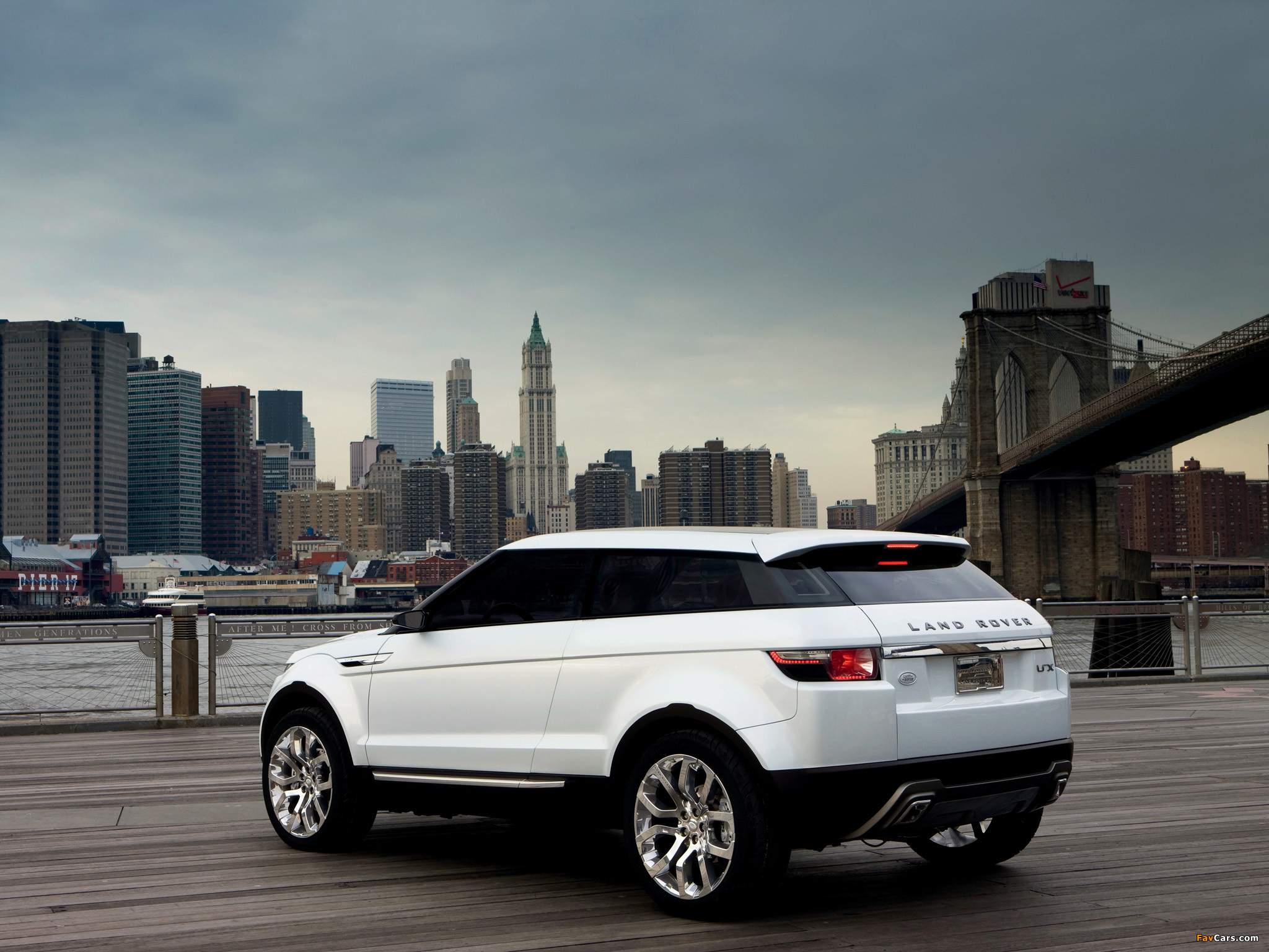 Land Rover LRX Concept 2007 wallpapers (2048 x 1536)