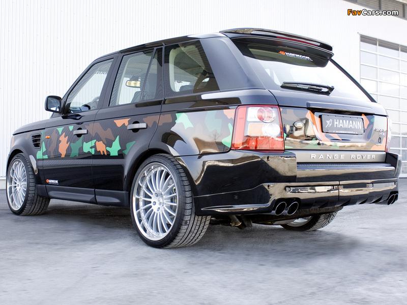 Images of Hamann Range Rover Sport 2006 (800 x 600)